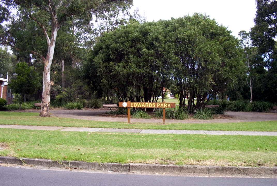 Edwards Park Strathfield Heritage