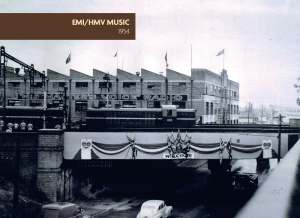 EMI-HMV at Homebush Photo 1954