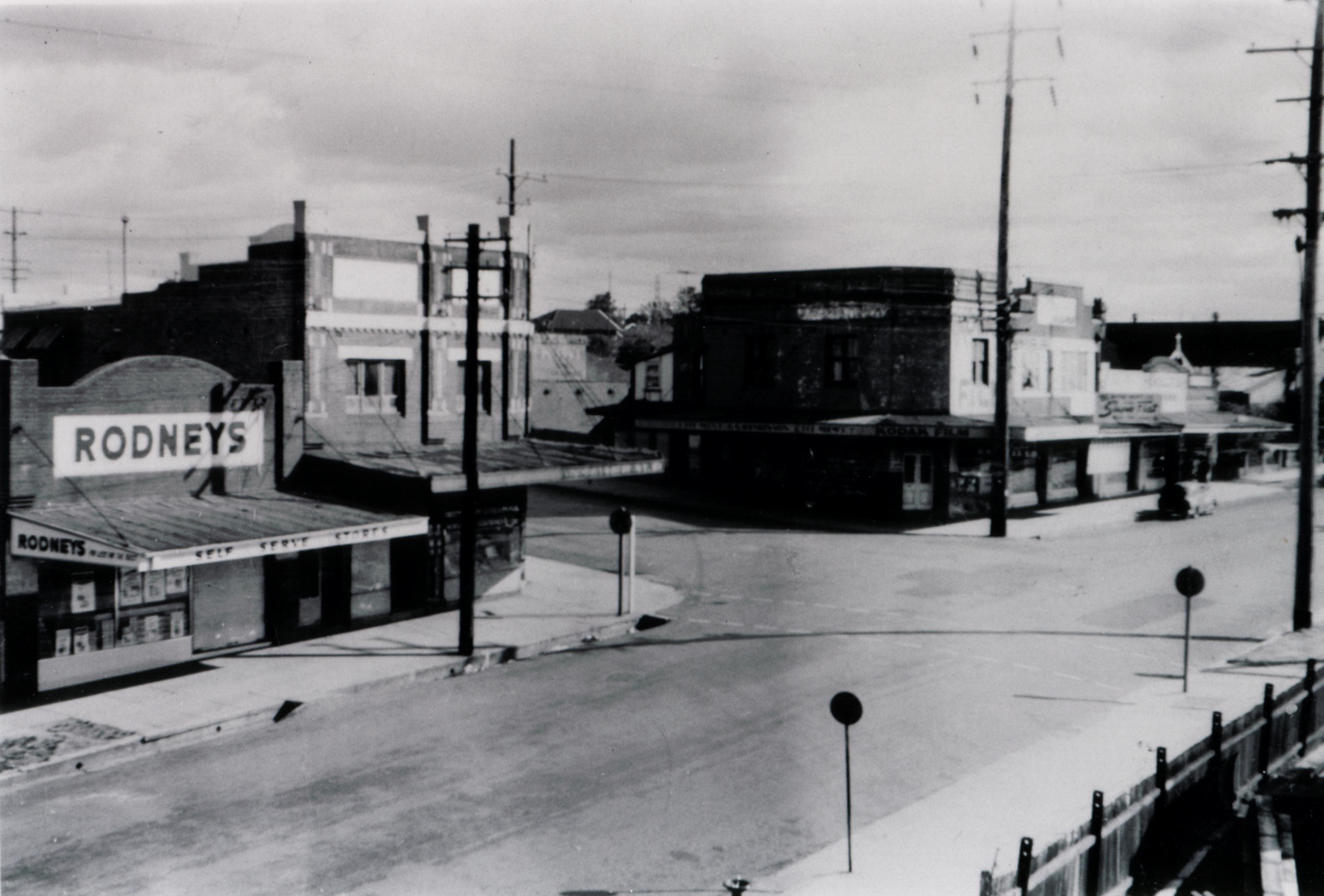 Homebush West And Flemington Shopping Centre The Crescent Henley Road 1959