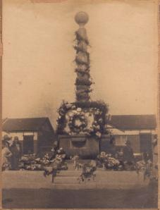 Homebush War Memorial opening ceremony