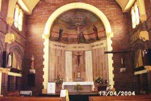 Interior of St Martha's Church 2004