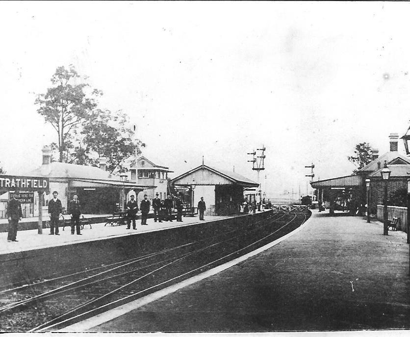 Strathfield Station c.1900s