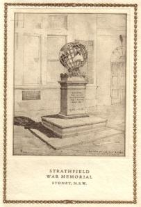 Strathfield War Memorial Opening Invitation (1925)