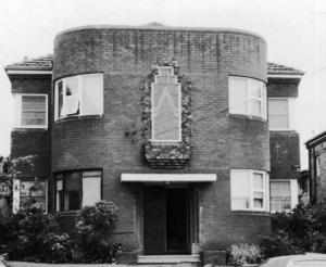 Station Street Homebush .  Photograph Strathfield Council 1986.
