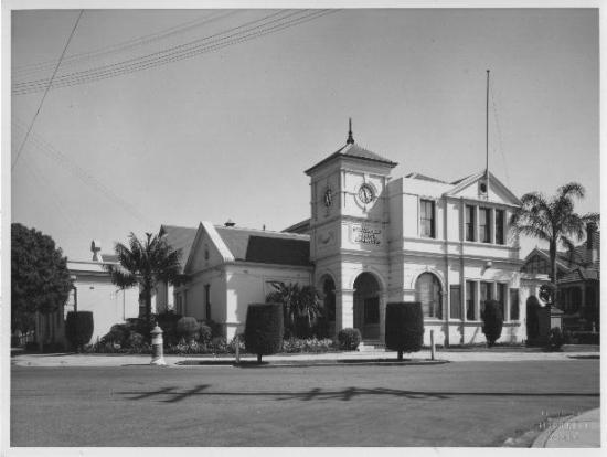 Strathfield Council Chambers 1947