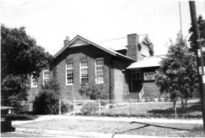 Homebush West Public School. Photo: Strathfield Council (1986)