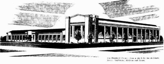Ford Factory Homebush 1936 illustration