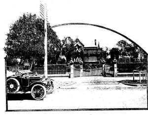 'Berelle' as featured in an advertisement for the Strathfield Park Estate in 1914.