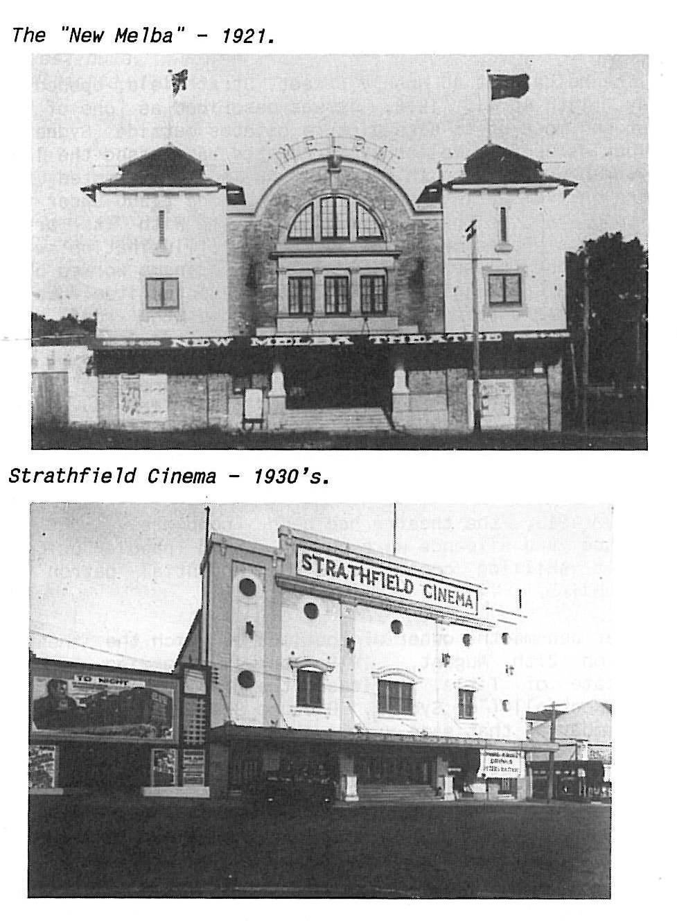 Melba Strathfield Hoyts Cinema Heritage