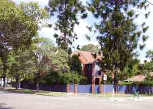 2 Barker Road Strathfield. Photo - Cathy Jones (2004)