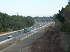Widening of M4 at Homebush - 2016. Photo Cathy Jones 2016