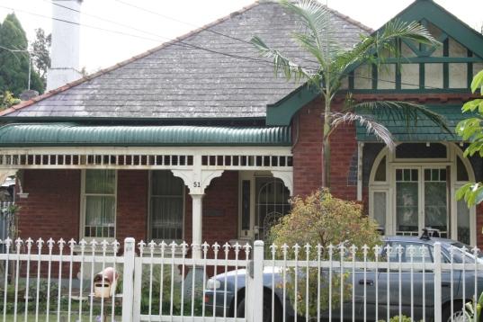 51 Redmyre Road Strathfield. Photo Cathy Jones 2010
