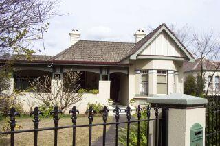 """Heaton Lodge' 64 Redmyre Road Strathfield. Photo Cathy Jones"