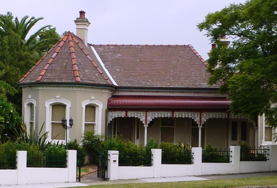 'Arcadia' 70 Redmyre Road Strathfield. Photo Cathy Jones 2004
