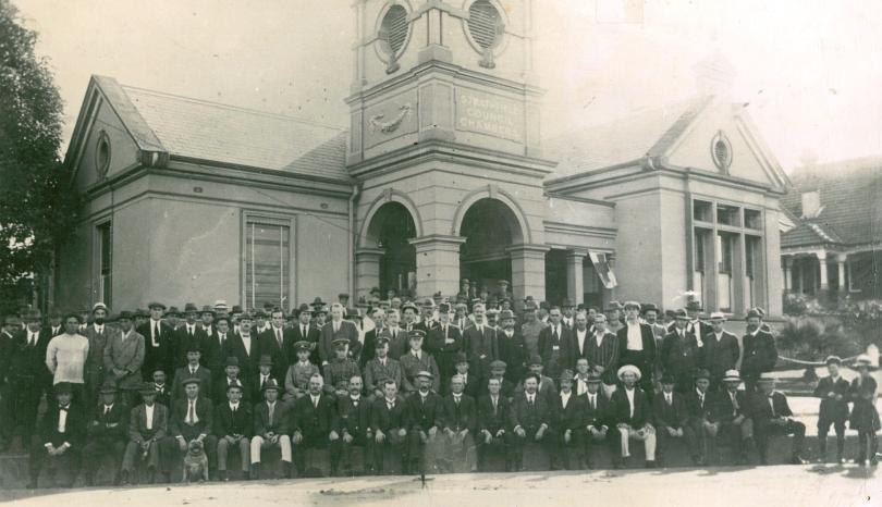 Strathfield-Homebush Rifle Club 1915