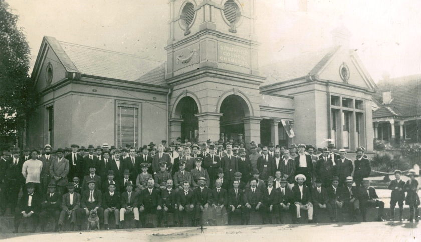 Strathfield-Homebush Rifle Club 1915