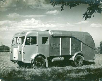 Strathfield Council Garbage Truck - 1940s