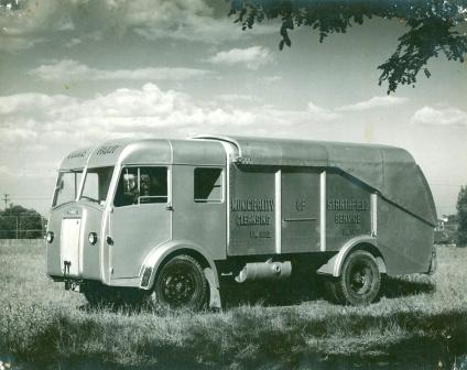 Strathfield Council Garbage Truck - 1940s
