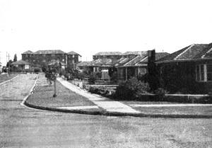 Housing Estate near Liverpool Road 1962