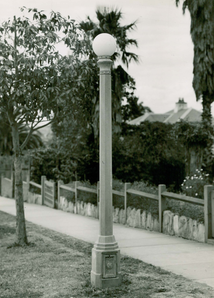 Strathfield Council Street Lights 1940s-1980s