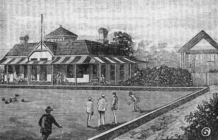 Union Recreation Club - Town and Country Journal Strathfield - 1888