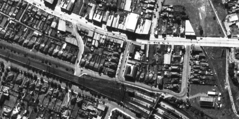 Aerial Strathfield - Homebush North c.1947