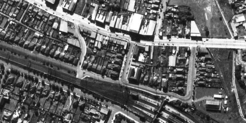 Aerial Strathfield - Homebush North c.1947