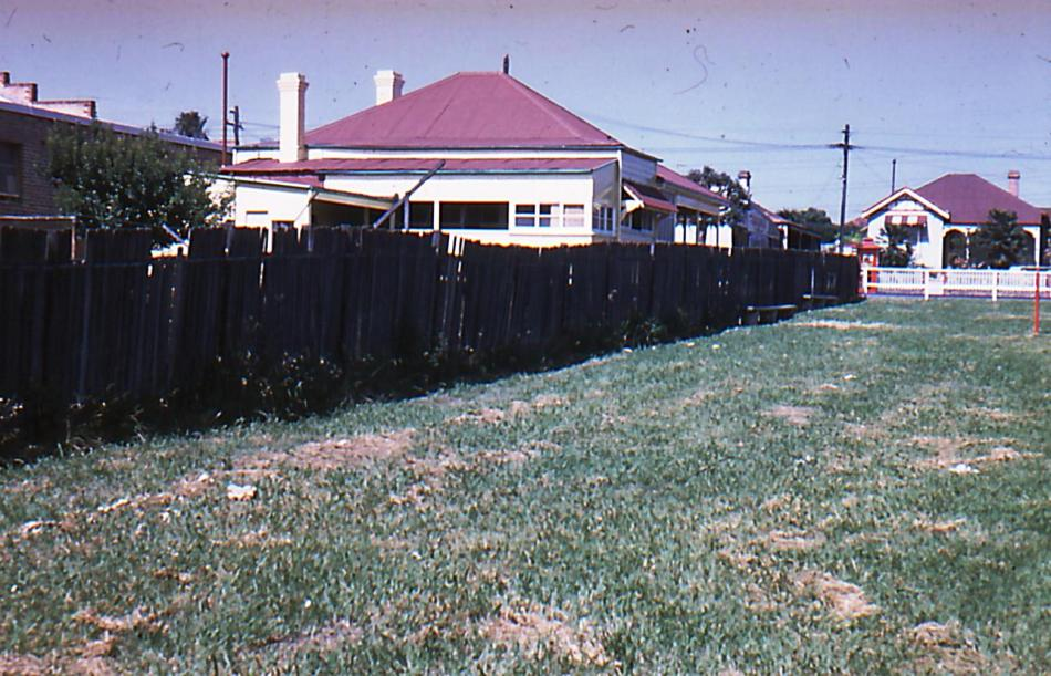 Austin Playground south boundary 1959