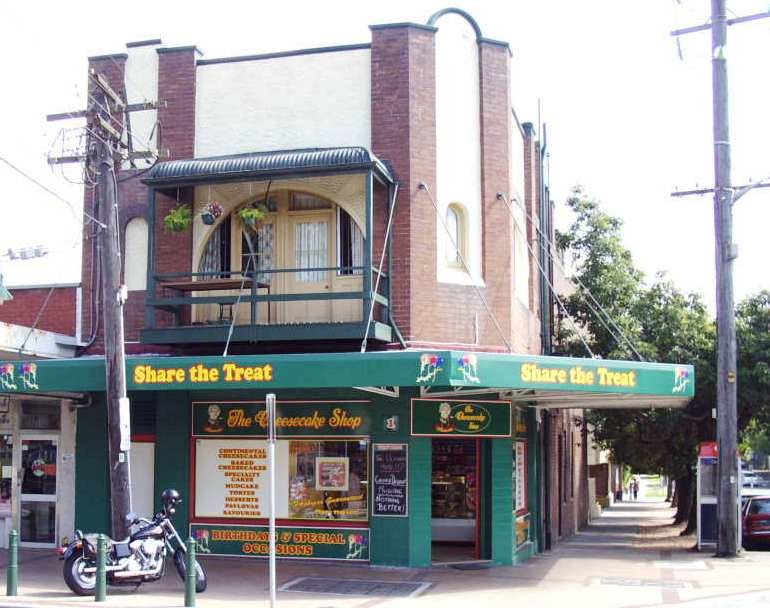 1 Rochester Street Homebush. Photo: Cathy Jones 2004.