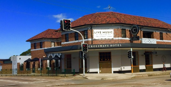 Crossways Hotel, 2017. Photograph: Cathy Jones