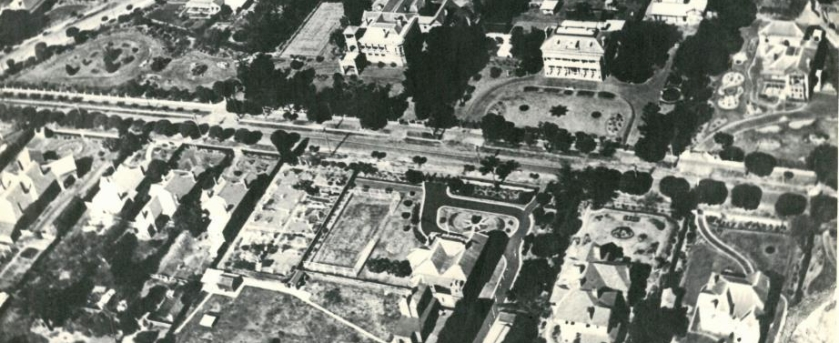 Albert Road aerial c.1922