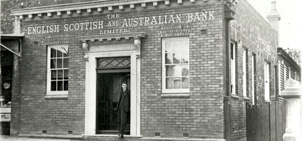ES&A Bank, The Boulevarde, Strathfield, 1916
