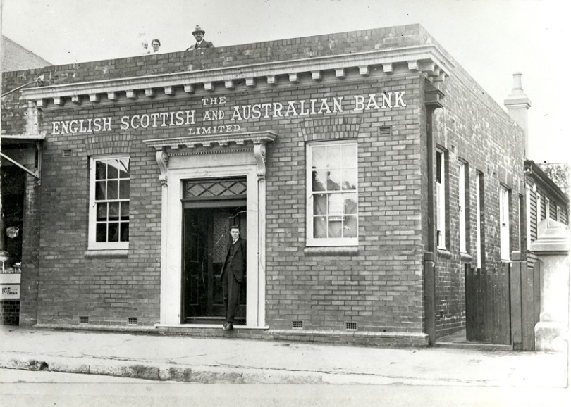 ES&A Bank, The Boulevarde, Strathfield, 1916