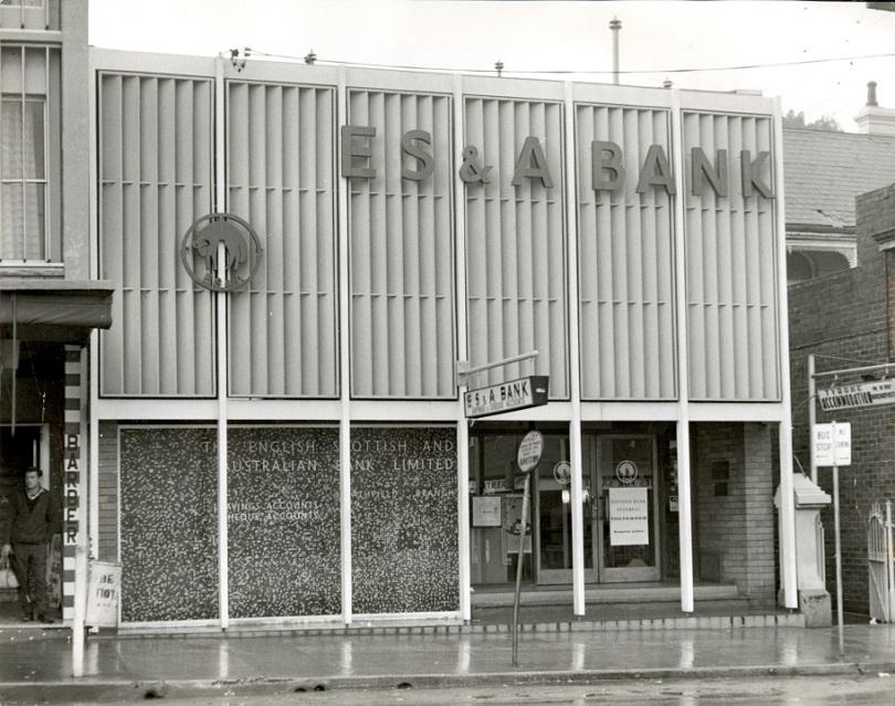 ES&A Bank, The Boulevarde, Strathfield, 1968