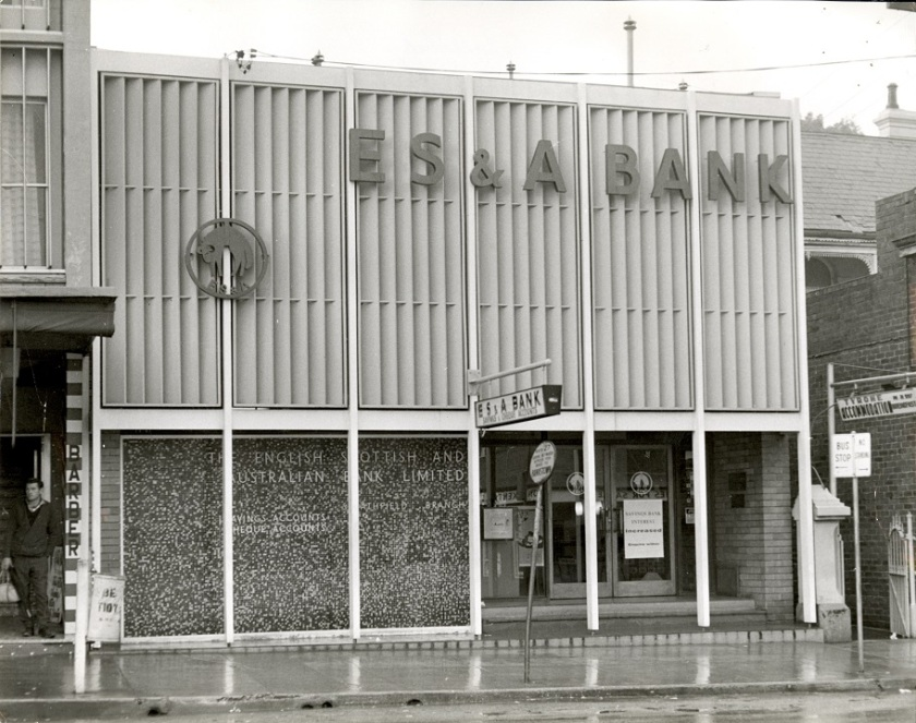 ES&A Bank, The Boulevarde, Strathfield, 1968
