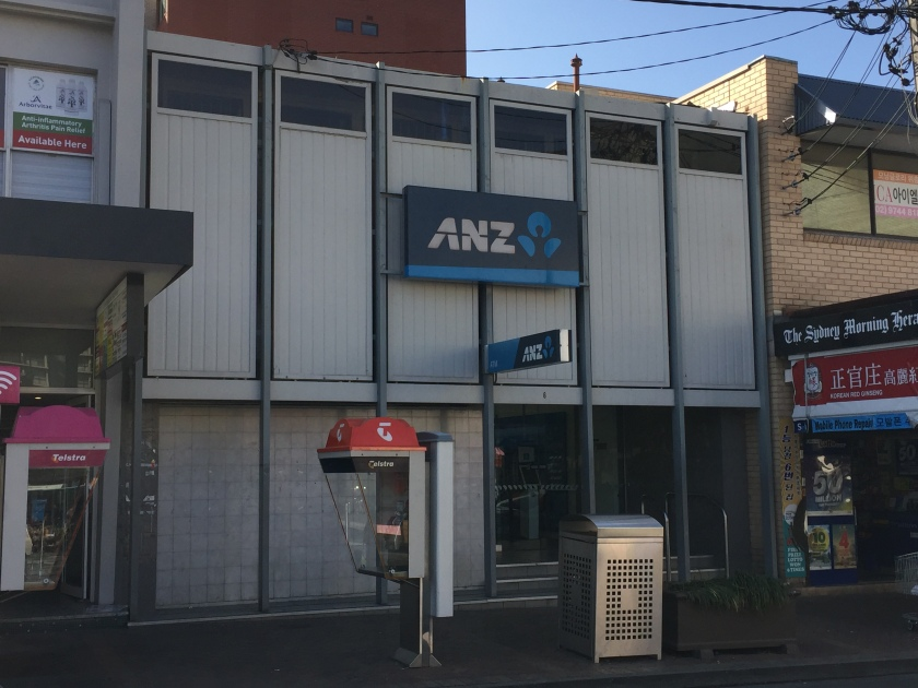 ANZ Bank, The Boulevarde Strathfield, 2017