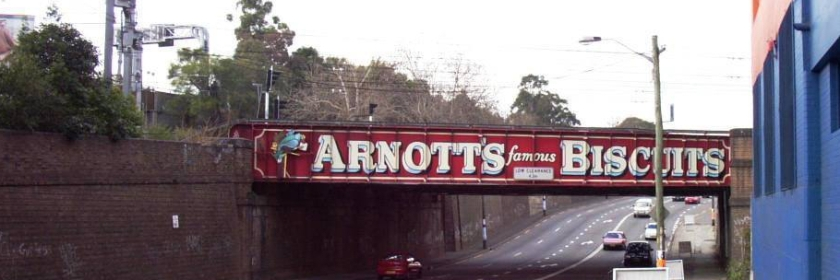Arnotts Bridge - Parramatta Road - 2004