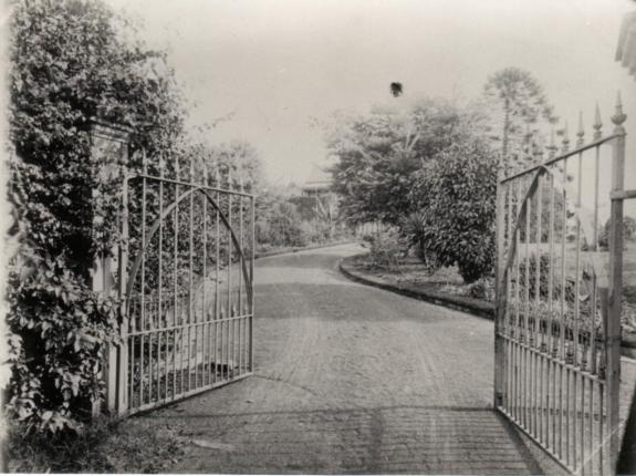 Strathfield House entrance