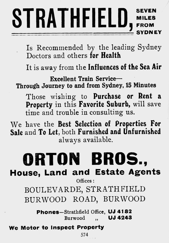 1913 advertisement
