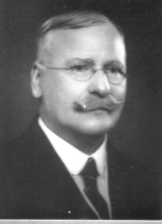 George Davey. Alderman Strathfield Council. Photo: Strathfield Council 1938