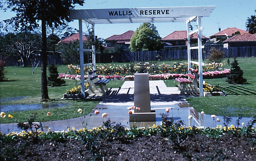 Wallis Reserve December 1960
