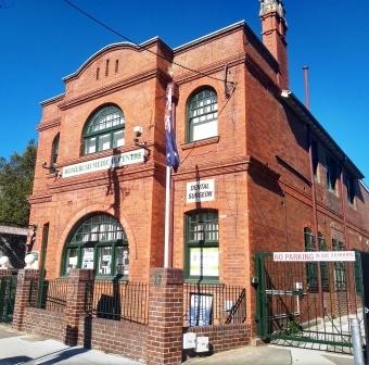 Former Homebush Post Office. Photo Cathy Jones 2018