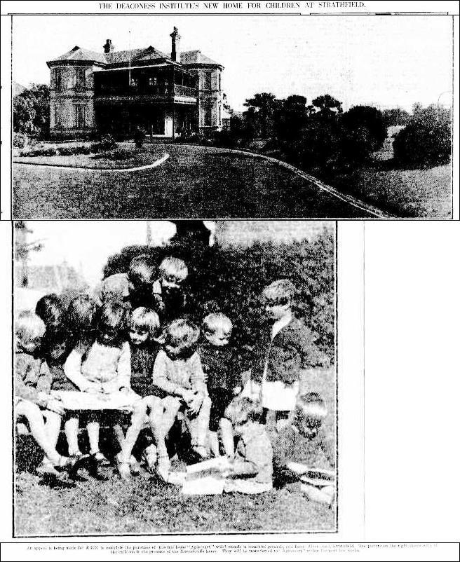Agincourt SMH 8-5-1929 Deconess Insitute