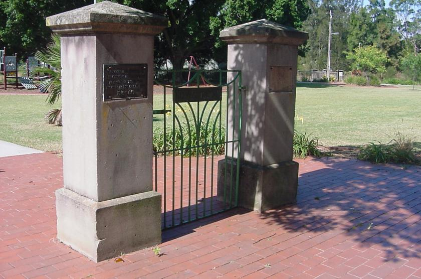 Melville Reserve Gates