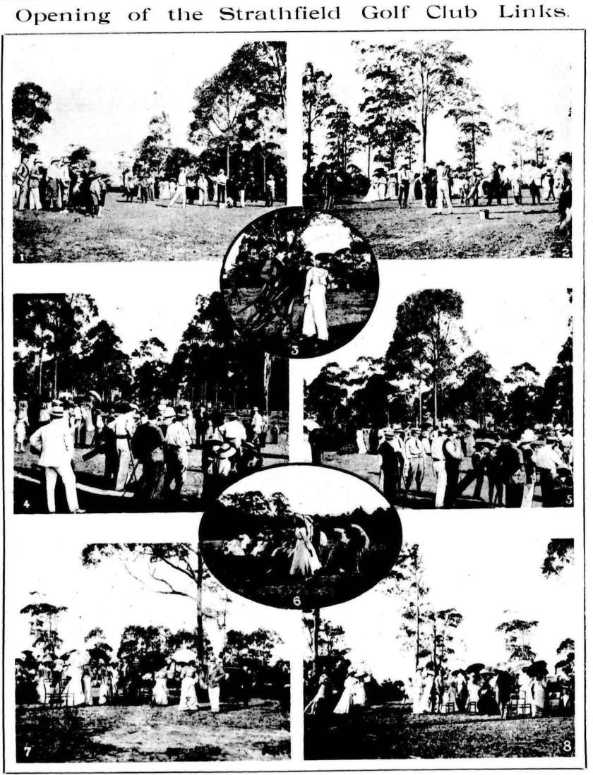 Strathfield Golf Links - Town & Country Journal April 1903