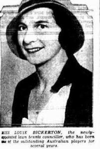 Louie Bickerton from Evening News 1934