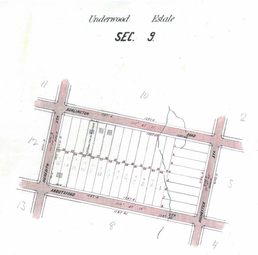 Section 9 Underwood Estate