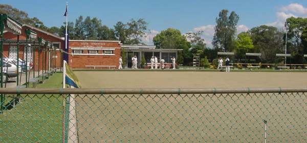 Strathfield Sth Bowling Club 2003. Photo Cathy Jones 2003