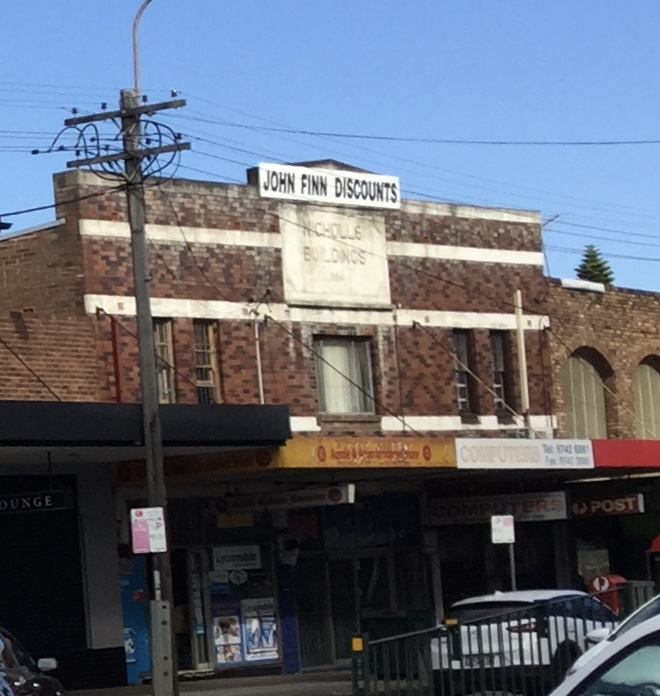 Nicholls Buildings, Liverpool Rd Strathfield South