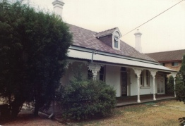 'Viwa' Burlington Road Homebush. Photo Strathfield District Historical Society
